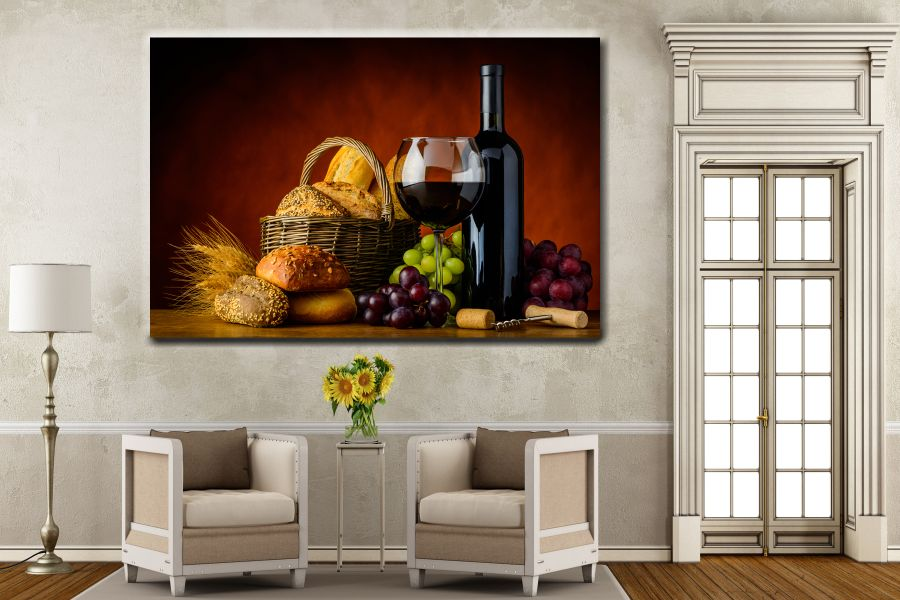 Canvas Art Wall Decor, ANIMALS ART,FOOD ART, KITCHEN ART, 34085 THUMBNAIL