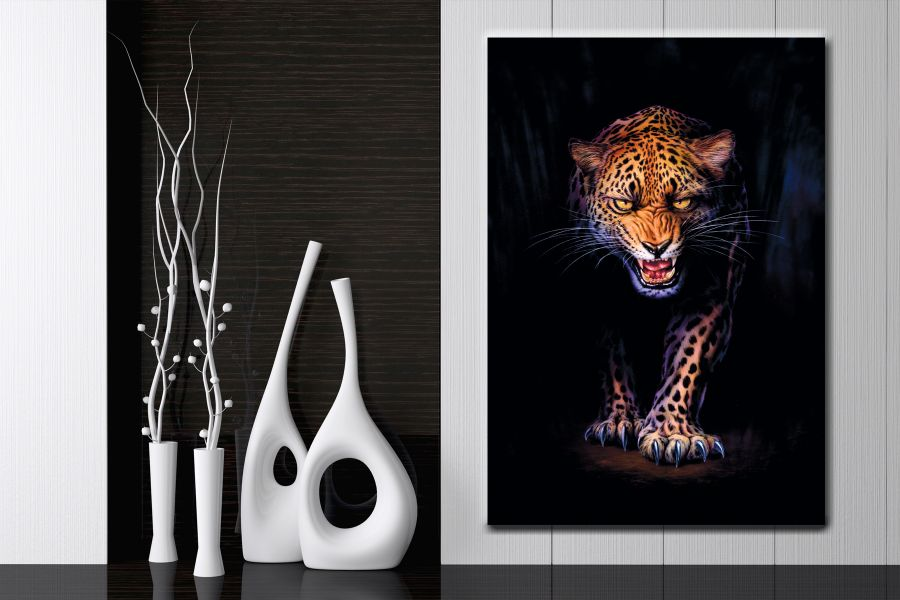 HD Metal Art, Indoor/Outdoor Wall Decor, Animals, Wildlife 35000 200 LARGE