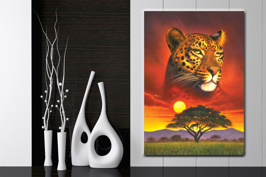 Canvas Art Wall Decor, CANVAS Art ANIMALS 35003 110 THUMBNAIL