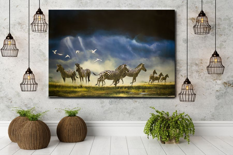 Canvas Art Wall Decor, CANVAS Art ANIMALS 35007 110 THUMBNAIL