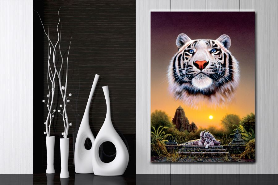 Canvas Art Wall Decor, ANIMALS ART, WILDLIFE ART 35009 THUMBNAIL