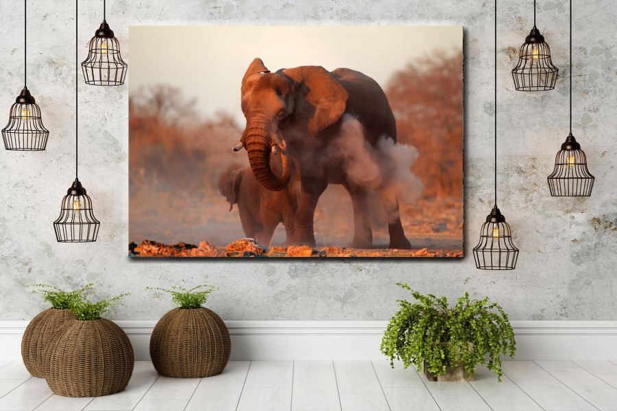 Canvas Art Wall Decor, ANIMALS ART, WILDLIFE ART 35014 THUMBNAIL