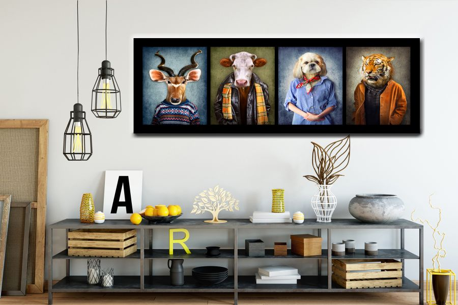 Canvas Art Wall Decor, ANIMALS ART, WILD LIFE 35035 04 THUMBNAIL