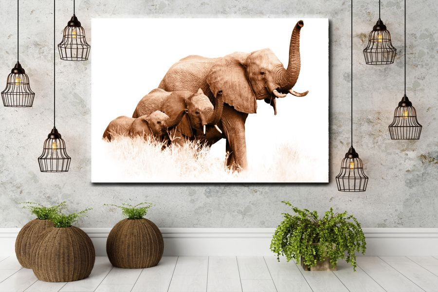 Canvas Art Wall Decor, ANIMALS ART, WILDLIFE ART 35045 THUMBNAIL
