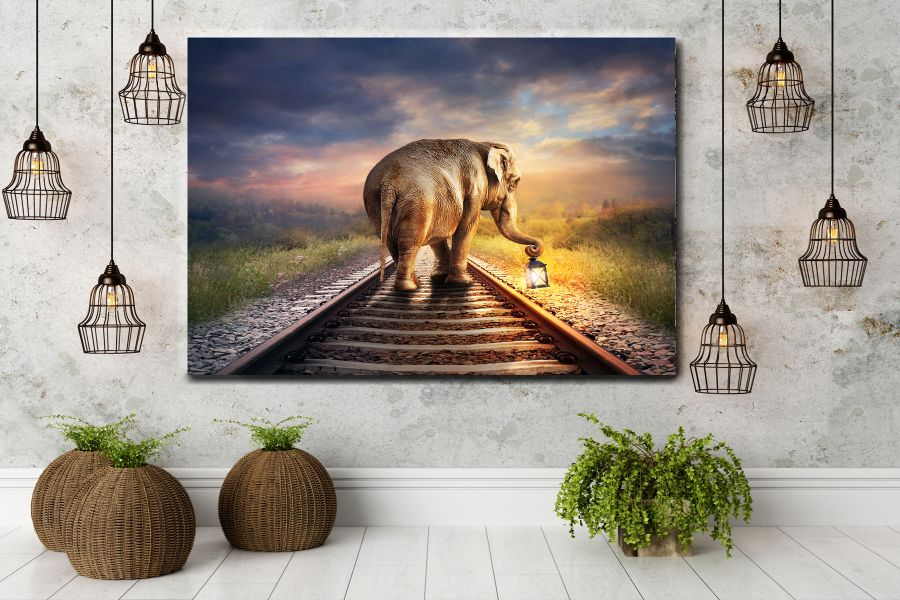 Canvas Art Wall Decor, CANVAS Art ANIMALS 35046 110 THUMBNAIL