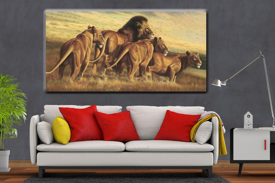 Canvas Art Wall Decor, ANIMALS ART, WILD LIFE 35055 21 THUMBNAIL