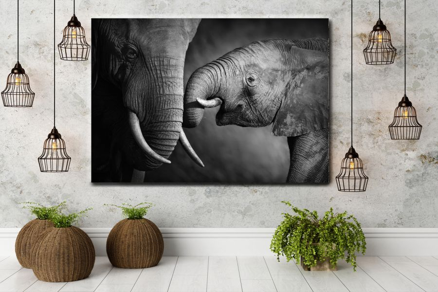 Canvas Art Wall Decor, ANIMALS ART, WILDLIFE ART 35057 THUMBNAIL