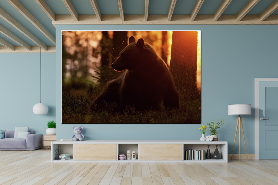 Canvas Art Wall Decor, CANVAS Art ANIMALS 35119 110 THUMBNAIL