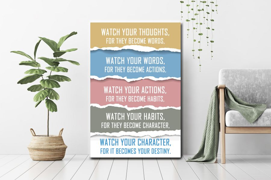 Canvas Art Wall Decor, motivational, inspitational Art 36019 THUMBNAIL