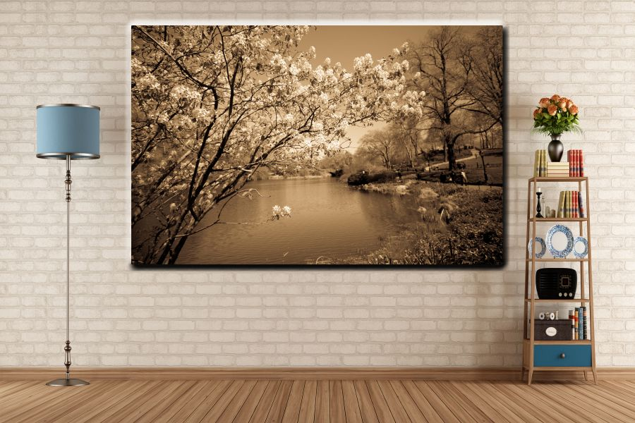 Canvas Art, Art Blvd, Pixolate, HD METAL ART, PIXOLATE, PIXODUDE, NATURE, LAMDSCAPE, VIEW SCENE, MOUNTAINS, FORESTS, JUN THUMBNAIL