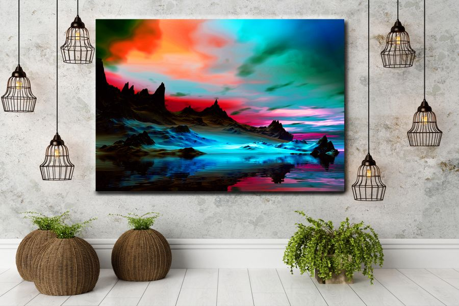 Canvas Art Wall Decor, NATURE 39082 LARGE