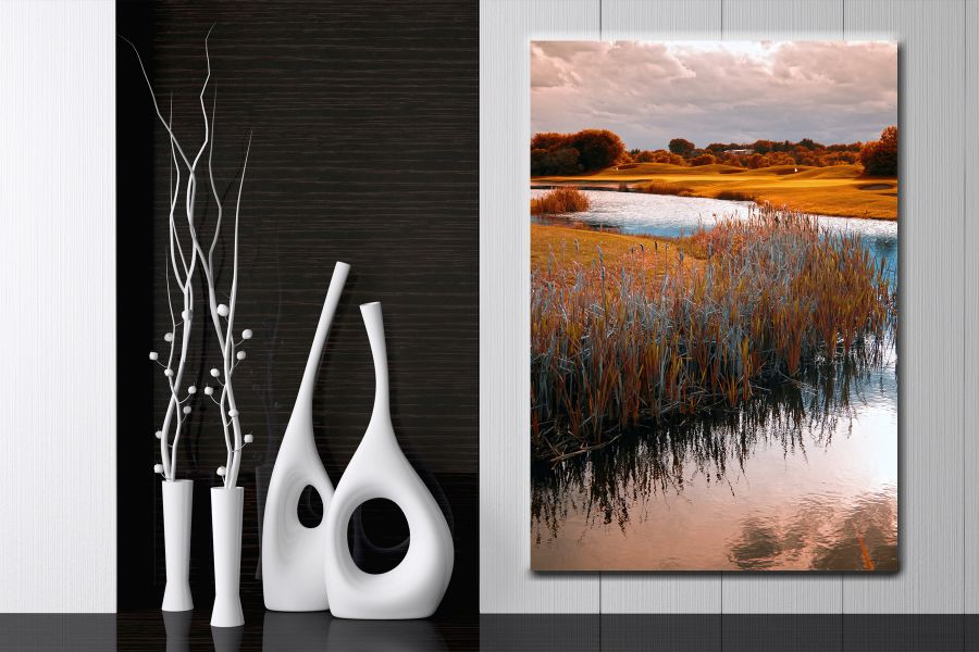HD Metal Art, Outdoor Art, PIXOLATE, SUBKEEN, DAMASKEEN LANDSCAPE, NATURE 39201 200 THUMBNAIL