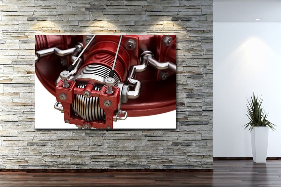 HD Metal Art, Indoor/Outdoor Wall Decor, AIRPLANE AVIATION 44010 200 110 THUMBNAIL