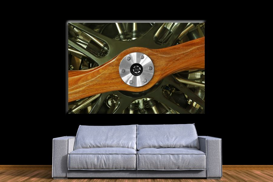 HD Metal Art, Indoor/Outdoor Wall Decor, AIRPLANE AVIATION 44060 200 111 THUMBNAIL