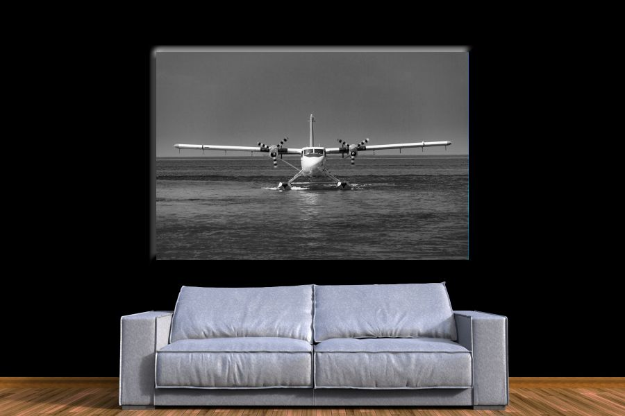 Canvas Art Wall Decor,airplane, aviation 44125 THUMBNAIL