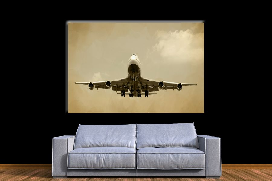 Canvas Art Wall Decor,airplane, aviation 44206A THUMBNAIL