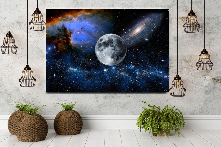 HD Metal Art, Indoor/Outdoor Wall Decor, Space, Spaceship 48157 200 110 THUMBNAIL
