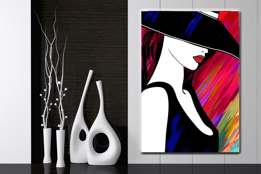 Canvas Art Wall Decor, MODERN FASHION 55033 LARGE