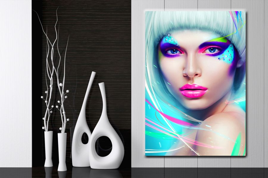 HD Metal Art, Indoor/Outdoor Wall Decor, Fashion & Modern 55035 200 THUMBNAIL