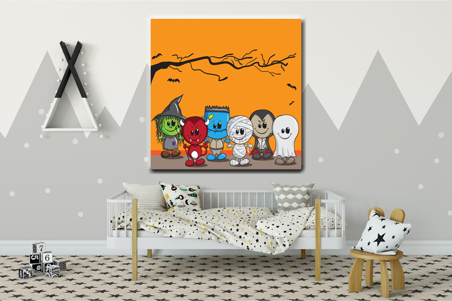 HD Metal Art, Indoor/Outdoor Wall Decor, CHILDREN CARTOON 58000 261 THUMBNAIL