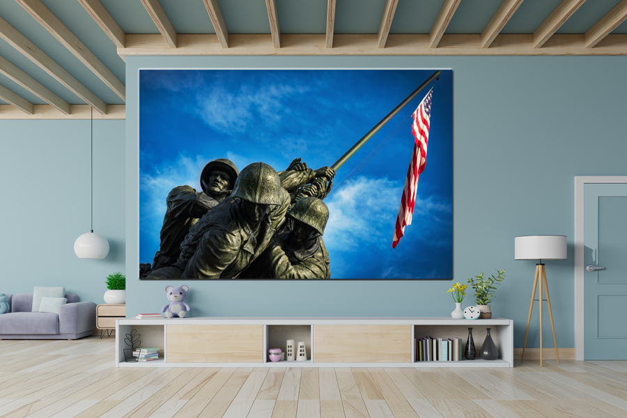 Canvas Art Wall Decor, CANVAS ART PATRIOTIC 60001 110 THUMBNAIL