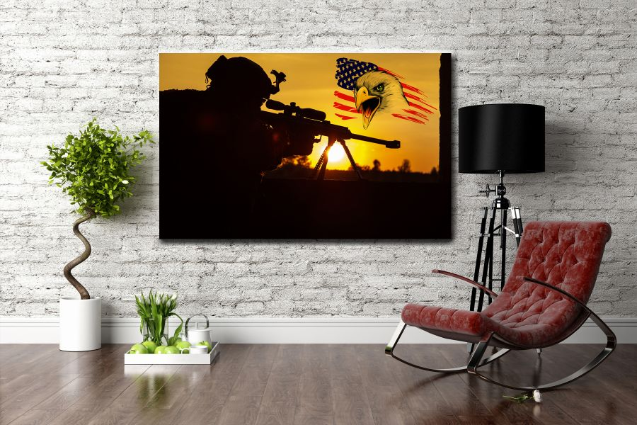Canvas Art Wall Decor, CANVAS ART PATRIOTIC 60044 110 THUMBNAIL