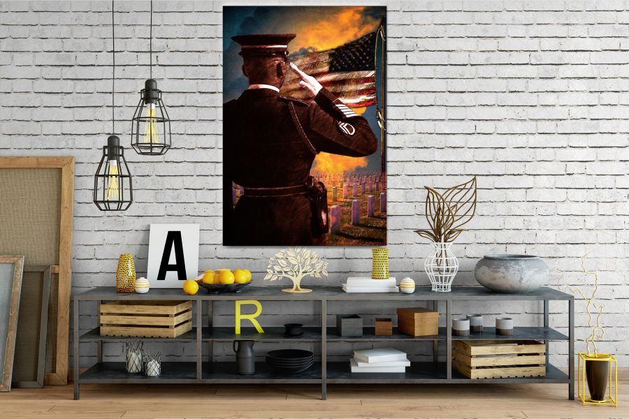 Canvas Art Wall Decor, CANVAS ART PATRIOTIC 60103 110 THUMBNAIL