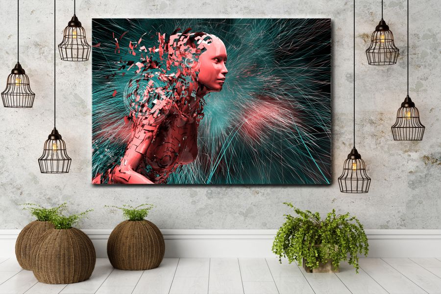 HD Metal Art, Indoor/Outdoor Wall Decor, Mystical 65093 200 LARGE