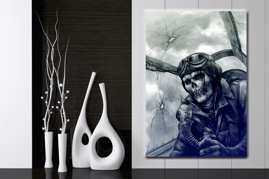 Canvas Art Wall Decor, MYSTICAL, SHULLS, SPIRIT 65803 LARGE
