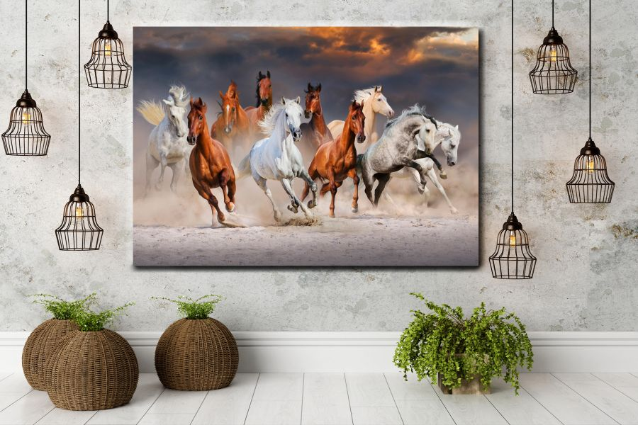 WILDWEST, COWBOY, COWS, NATIVE AMERICAN, RED INDIAN, HORSES LARGE