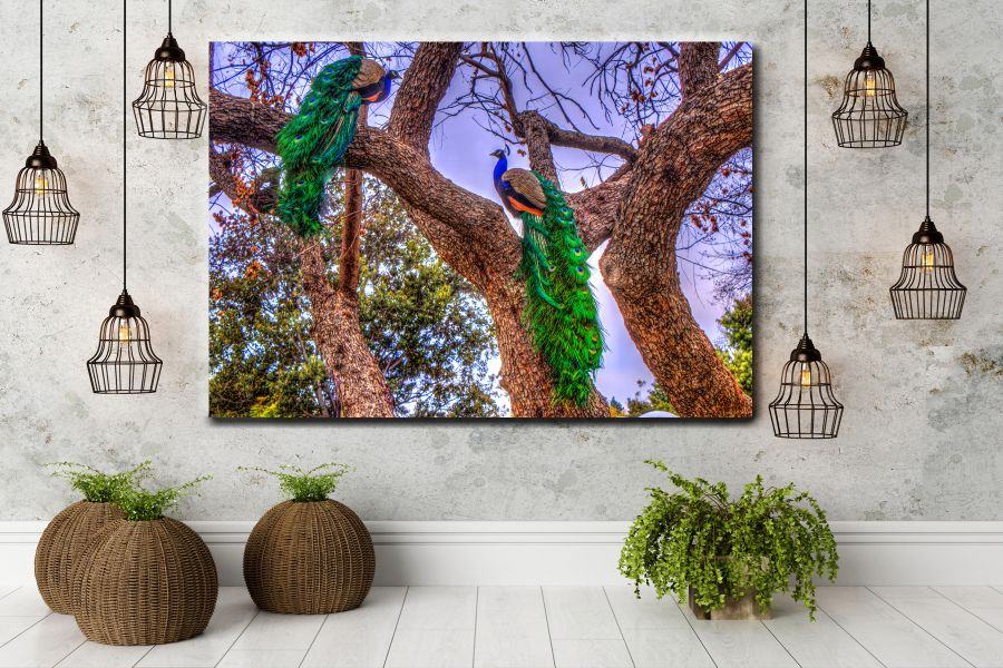 HD Metal Art, Indoor/Outdoor Wall Decor, BIRDS 70005 911 THUMBNAIL