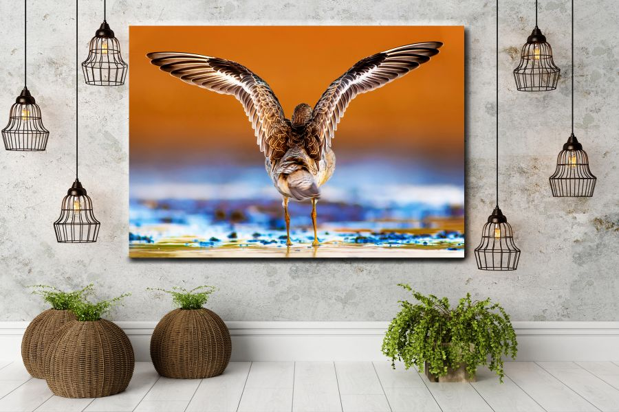 HD Metal Art, Indoor/Outdoor Wall Decor,  Pixolate, Subtint BIRDS 70009 200 THUMBNAIL