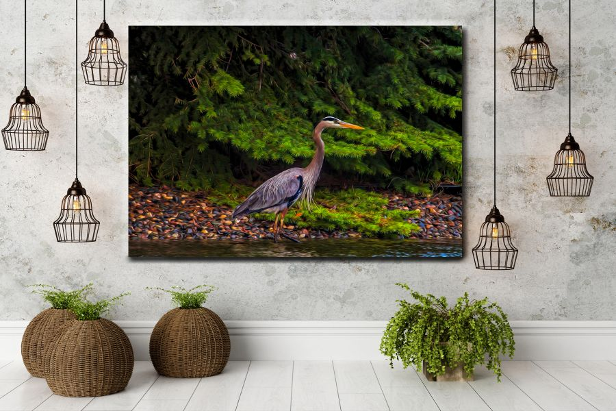 Canvas Art Wall Decor, BIRDS 70011 THUMBNAIL