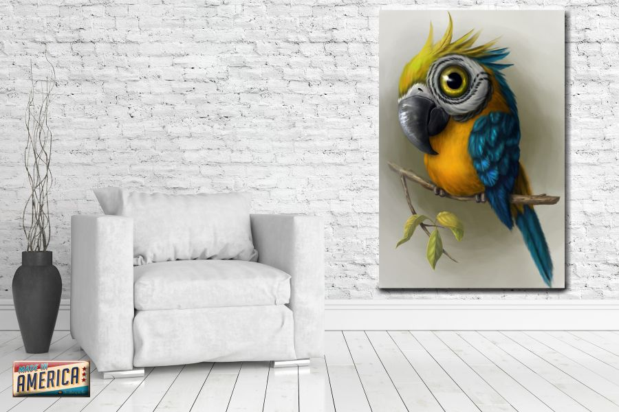Canvas Art Wall Decor, BIRDS 70020 THUMBNAIL