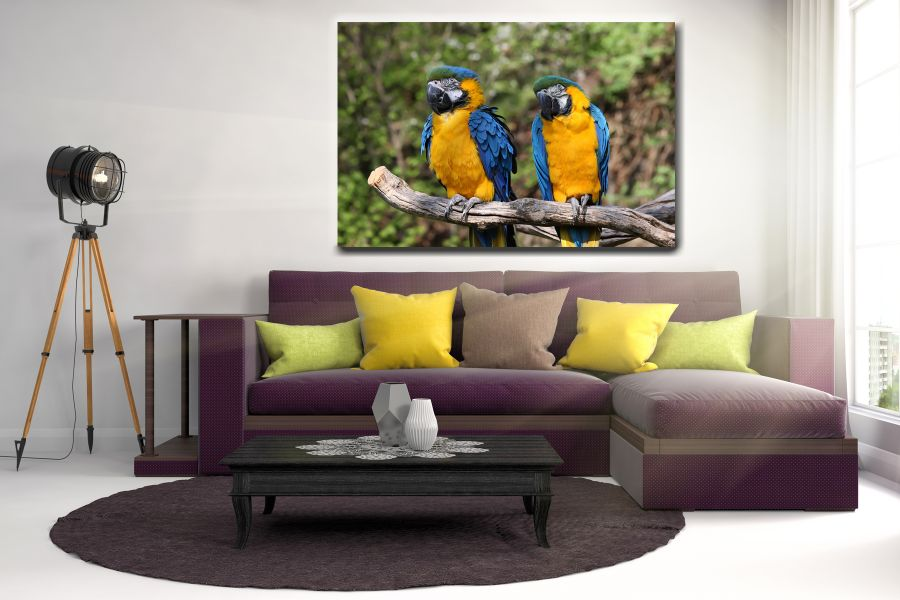 HD Metal Art, Indoor/Outdoor Wall Decor,  Pixolate, Subtint BIRDS 70038 200 THUMBNAIL
