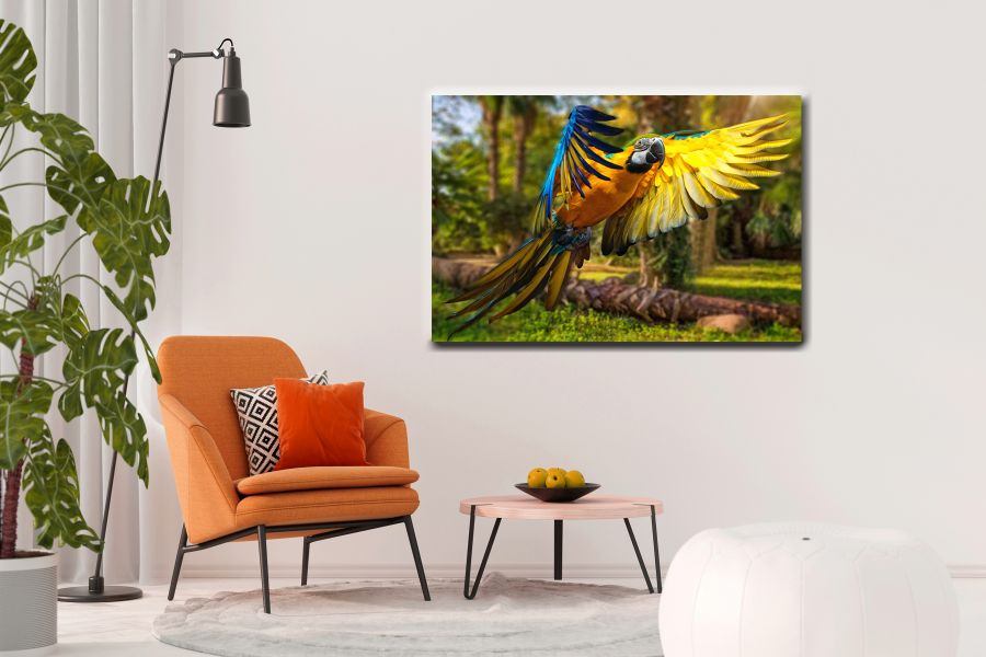 HD Metal Art, Indoor/Outdoor Wall Decor,  Pixolate, Subtint BIRDS 70039 200 THUMBNAIL