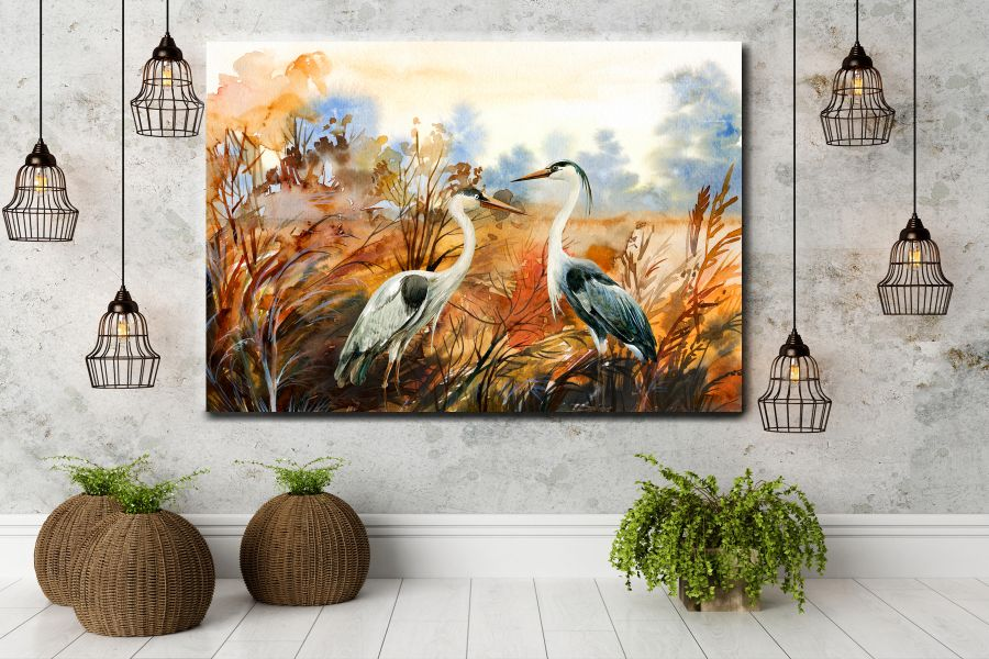 Canvas Art Wall Decor, BIRDS 70055 THUMBNAIL
