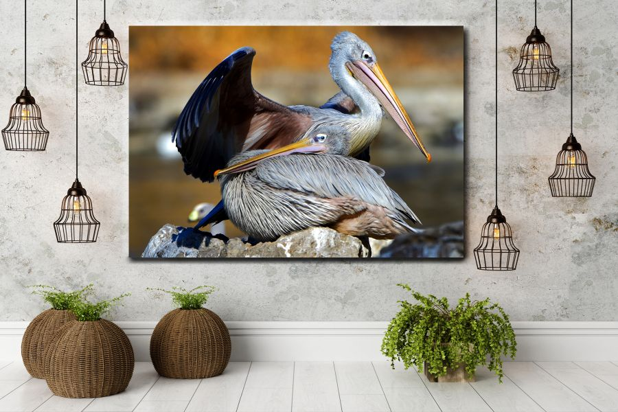 Canvas Art Wall Decor, BIRDS 70058 THUMBNAIL