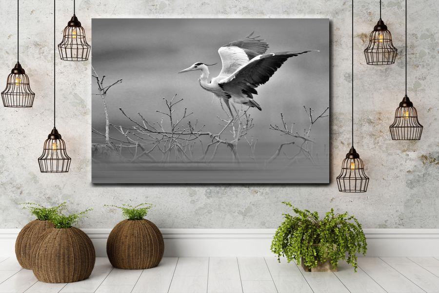 Canvas Art Wall Decor, BIRDS 70063A THUMBNAIL