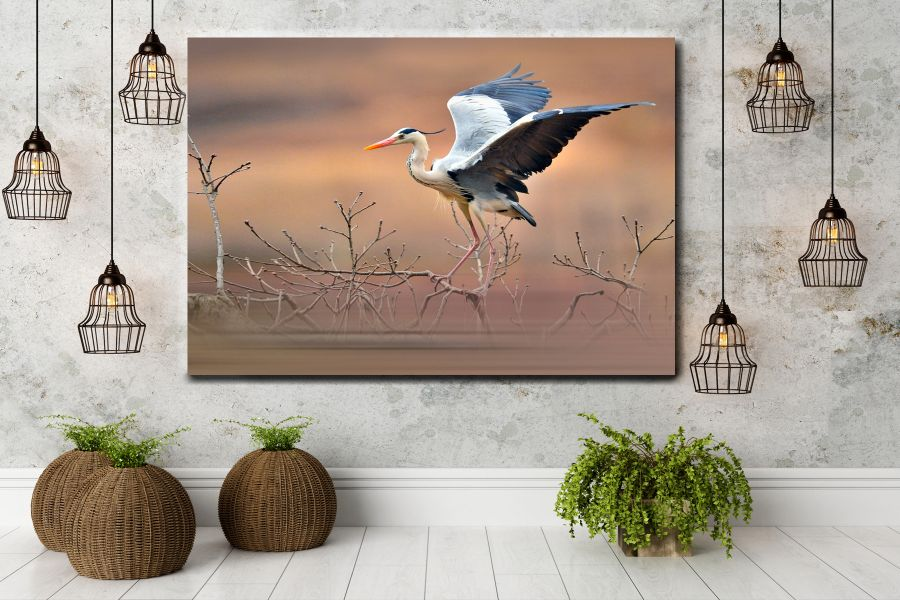 Canvas Art Wall Decor, BIRDS 70063 THUMBNAIL