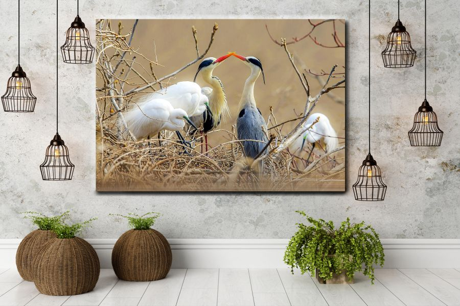 Canvas Art Wall Decor, BIRDS 70064 THUMBNAIL