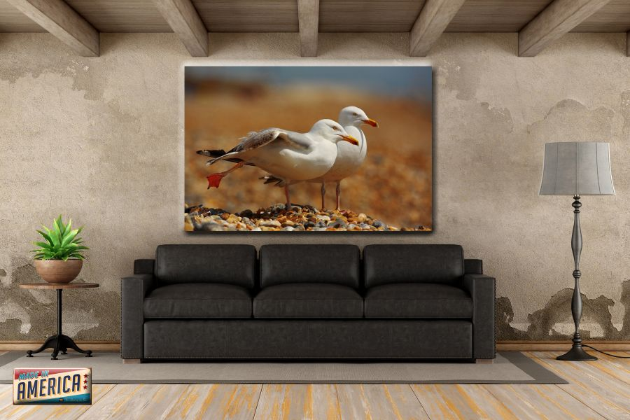 HD Metal Art, Indoor/Outdoor Wall Decor, BIRDS 70065 911A THUMBNAIL