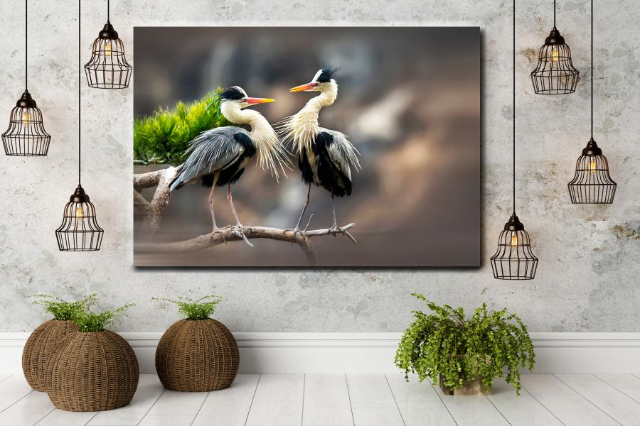 Canvas Art Wall Decor, CANVAS ART BIRDS 70071 110 THUMBNAIL