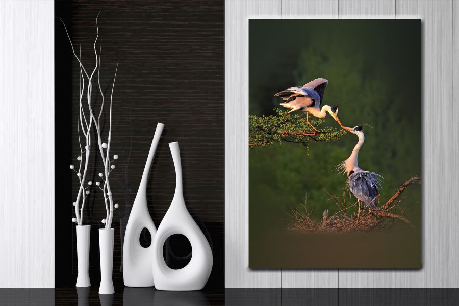 Canvas Art Wall Decor, CANVAS ART BIRDS 70072 110 THUMBNAIL