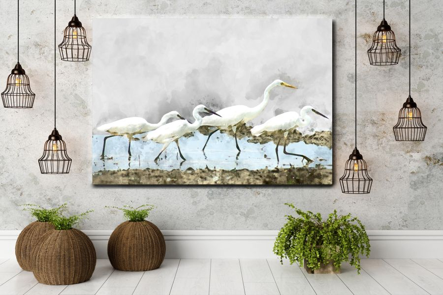 Canvas Art Wall Decor, CANVAS ART BIRDS 70073 110 THUMBNAIL