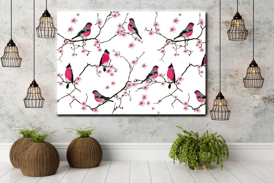 HD Metal Art, Indoor/Outdoor Wall Decor,  Pixolate, Subtint BIRDS 70119 200 THUMBNAIL