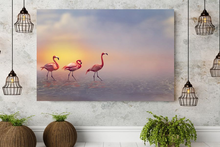 HD Metal Art, Indoor/Outdoor Wall Decor,  Pixolate, Subtint BIRDS 70307 200 THUMBNAIL