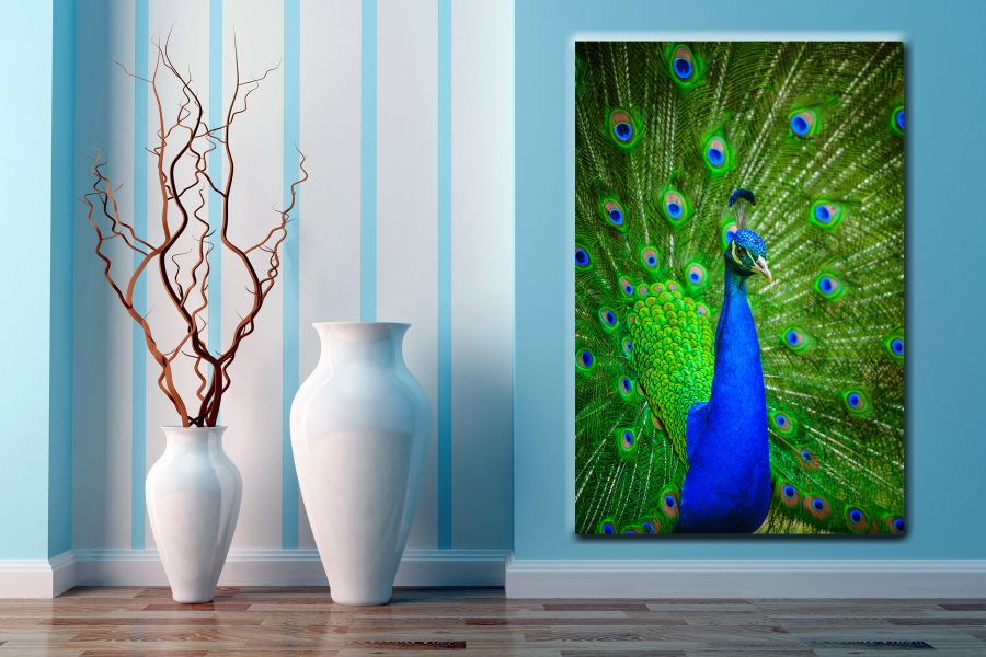HD Metal Art, Indoor/Outdoor Wall Decor,  Pixolate, Subtint BIRDS 70368 200 THUMBNAIL