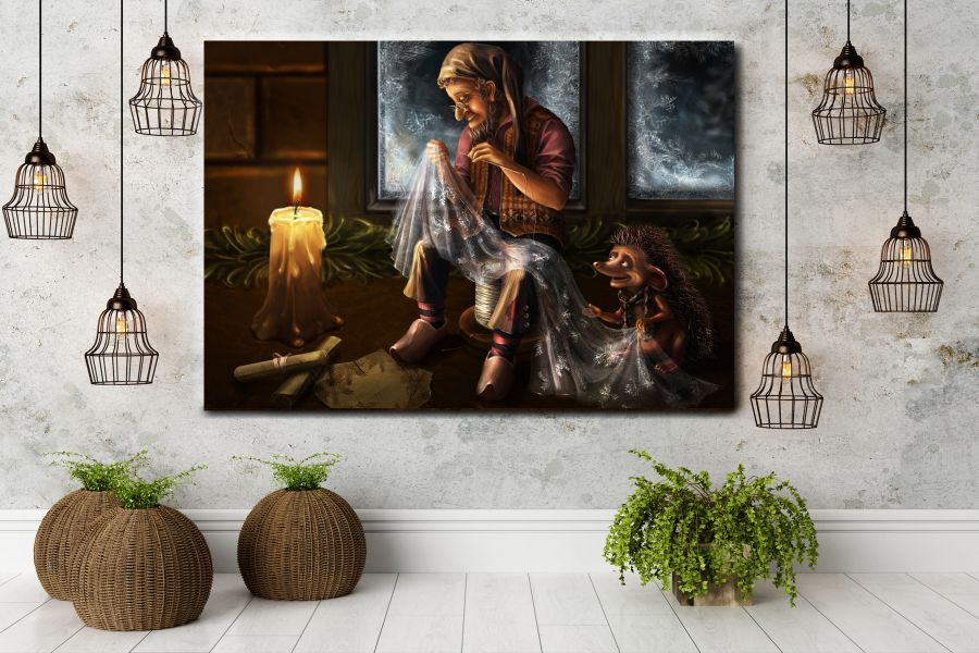 Canvas Art Wall Decor, FAIRY 79000 THUMBNAIL