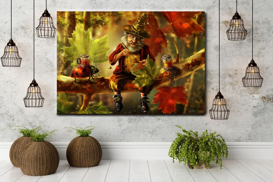 Canvas Art Wall Decor, FAIRY 79001 THUMBNAIL